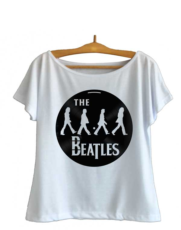 ca5fc0d683 Camiseta Feminina The Beatles- Camisetas